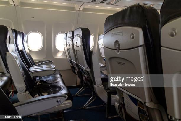 Aircraft seating configuration on a passenger jet