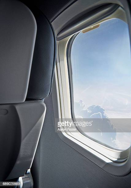 Aircraft Window View