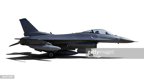 aircraft with clipping paths - fighter stock pictures, royalty-free photos & images
