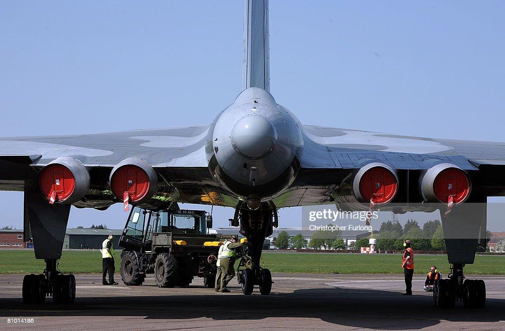 Restored Vulcan Bomber Put Through Final Aviation Tests : News Photo