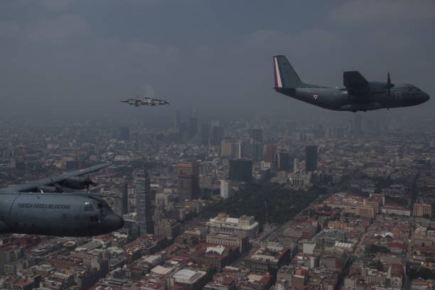 MEX: Independence Day Military Parade