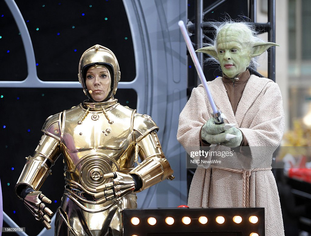 Hoda Kotb As Yoda Kathie Lee Gifford C 3PO NBC News Today Co Hosts
