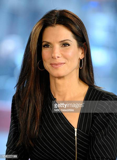 Sandra Bullock appears on NBC News' Today show