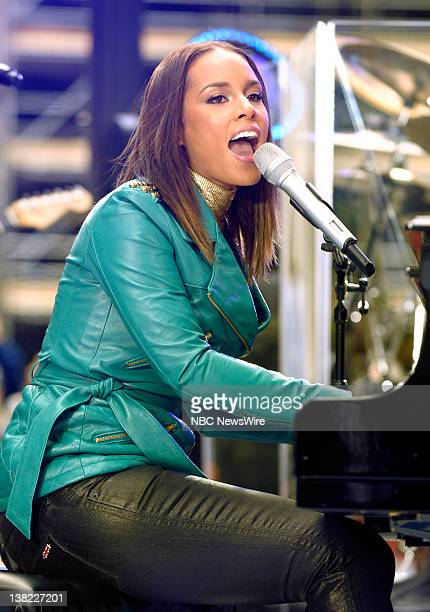 Alicia Keys performs on NBC News' 'Today' show