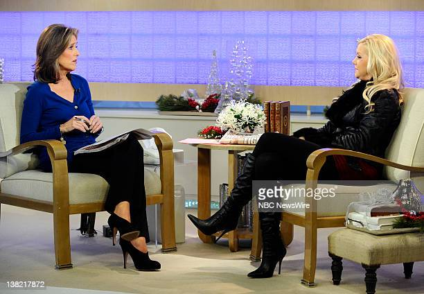 Meredith Vieira and Jamie Jungers appear on NBC News' Today show