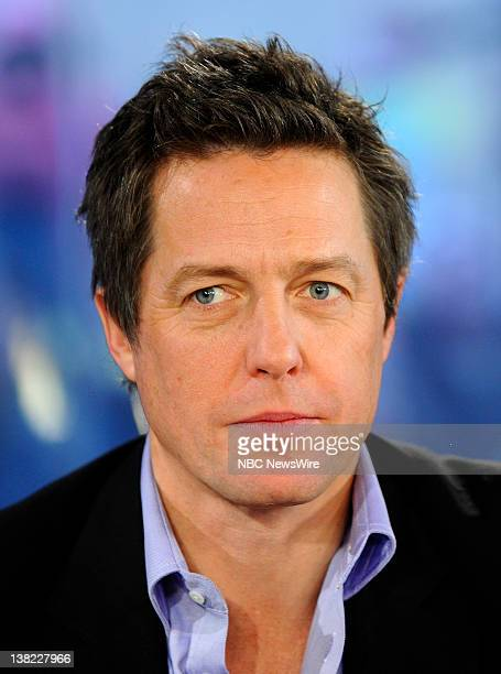 Hugh Grant appears on NBC News' Today show