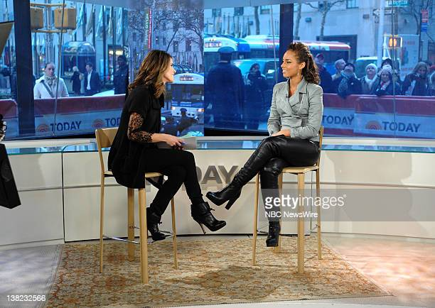 Natalie Morales and Alicia Keys appear on NBC News' 'Today' show