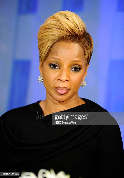 Mary J Blige appears on NBC News' 'Today' show