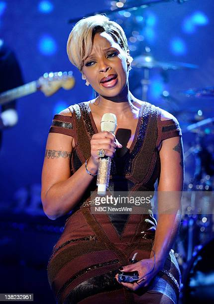 Mary J Blige performs on NBC News' 'Today' show