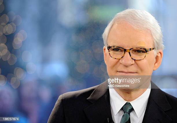 Steve Martin appears on NBC News' Today show