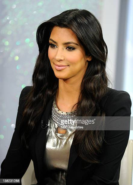 Kim Kardashian appears on NBC News' Today show