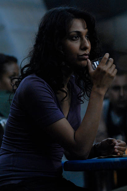 GALACTICA Airdate 4/18/08 `The Ties That Bind` Episode 405 Pictured Rekha Sharma as Tory Foster