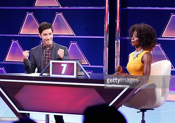 July 17 2016 Michael Strahan hosts a new version of the classic game show THE $100000 PYRAMID airing SUNDAYS on the ABC Television Network Tony Hale...