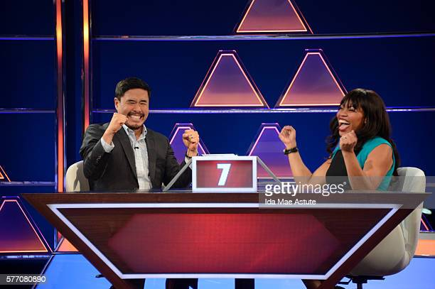 July 24 2016 Michael Strahan hosts a new version of the classic game show THE $100000 PYRAMID airing SUNDAYS on the Walt Disney Television via Getty...
