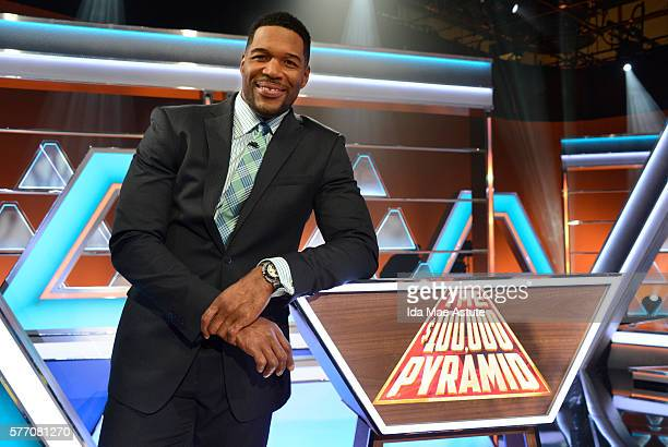 July 24 2016 Michael Strahan hosts a new version of the classic game show THE $100000 PYRAMID airing SUNDAYS on the ABC Television Network Randall...