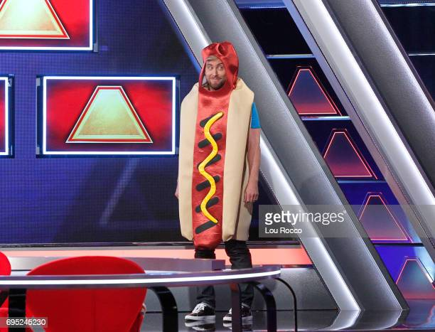 June 18 2017 Michael Strahan hosts a new version of the classic game show THE $100000 PYRAMID airing SUNDAYS on the ABC Television Network Lance Bass...