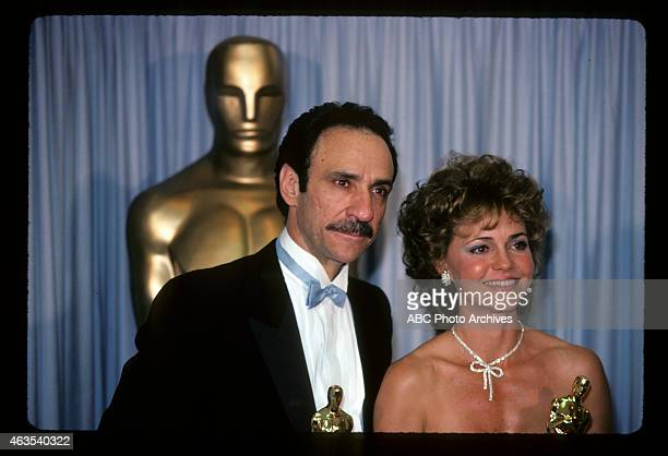 March 25 1985 F MURRAY ABRAHAM WINNER BEST ACTOR FOR 'AMADEUS' AND SALLY FIELD WINNER BEST ACTRESS FOR 'PLACES IN THE HEART'