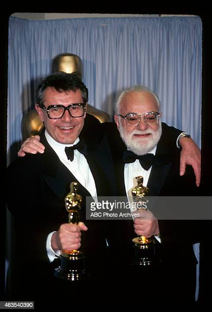 March 25 1985 MILOS FORMAN WINNER BEST DIRECTOR AND PRODUCER SAUL ZAENTZ WINNER BEST PICTURE BOTH FOR 'AMADEUS'