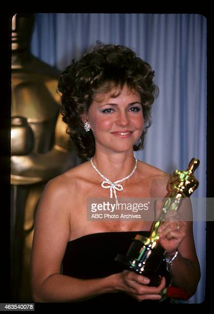 March 25 1985 SALLY FIELD WINNER BEST ACTRESS FOR 'PLACES IN THE HEART'
