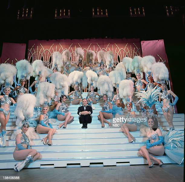 S WONDERFUL WORLD OF GIRLS Aired Pictured Gene Kelly with the Folies Bergere Showgirls