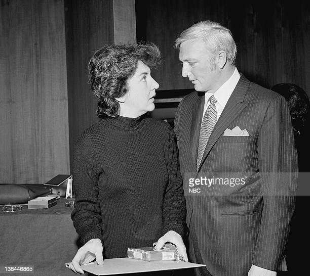 Actors Maureen Stapleton and Jack Cassidy