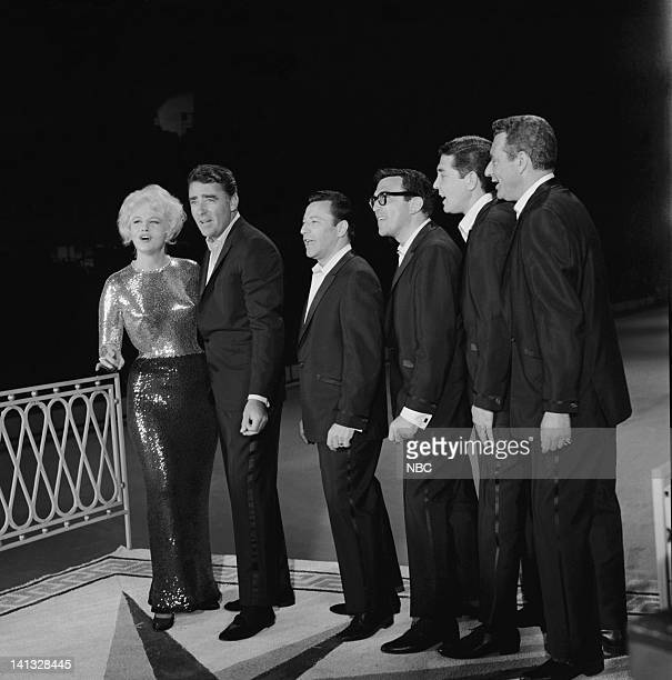 Peggy Lee Peter Lawford the Kirby Stone Four Photo by Gerald K Smith/NBCU Photo Bank