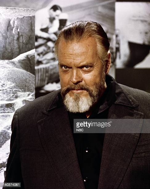 Narrator Orson Welles Photo by NBCU Photo Bank