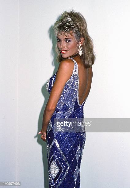 Wheel of Fortune co host Vanna White on September 4 1986 Photo by Alice S Hall/NBCU Photo Bank