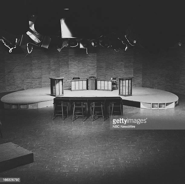 NBC Studios in Washington DC site of 1960 Presidental Debate on October 7 1960