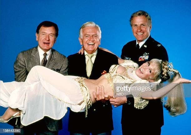 Bill Daily as Captain Roger Healey Hayden Rorke as Dr Alfred E Bellows Wayne Rogers as Major Tony Nelson Barbara Eden as Jeannie