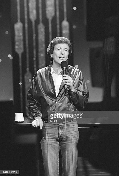 Musical guest Bert Convy performs on October 2 1984 Photo by Gary Null/NBCU Photo Bank