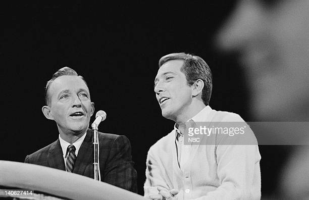 Bing Crosby Andy Wiilliams Photo by NBCU Photo Bank