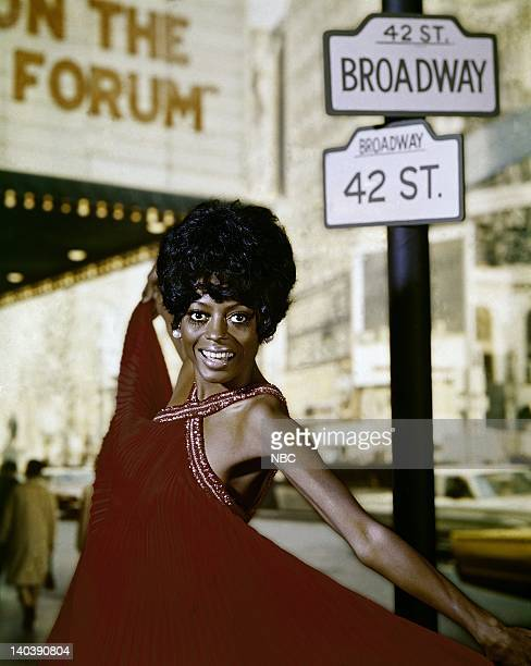 BROADWAY Aired Pictured Diana Ross of The Supremes Photo by Paul W Bailey/NBCU Photo Bank