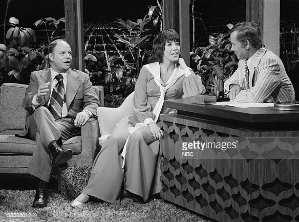 Actor/Comedian Don Rickles actress/Comedian Lily Tomlin host Johnny Carson