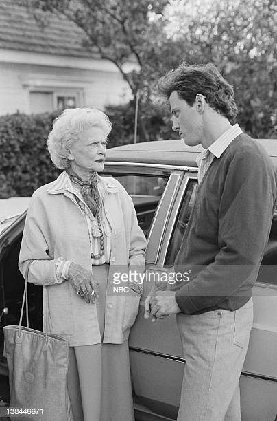 Aired 11/18/85 -- Pictured: Sylvia Sidney as Beatrice McKenna, Aidan Quinn as Michael Pierson