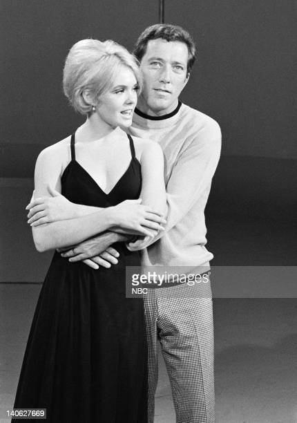 Joey Heatherton Andy Williams Photo by Frank Carroll/NBCU Photo Bank