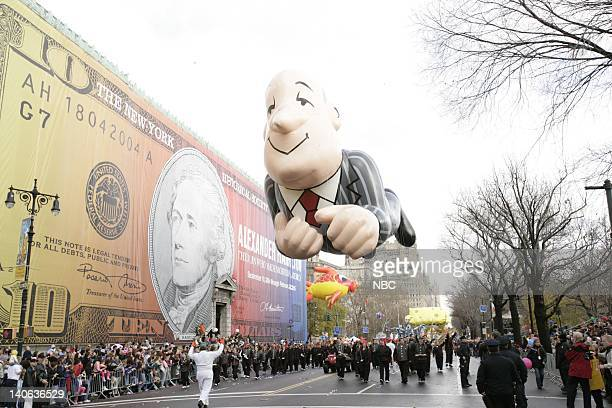 S 78TH THANKSGIVING DAY PARADE Aired Pictured Askcom's Jeeves balloon at the 2004 Macy's Thanksgiving Day Parade Photo by Virginia Sherwood/NBCU...