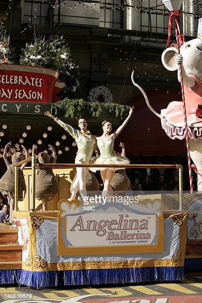 S 78TH THANKSGIVING DAY PARADE Aired Pictured Ballet dancers on the Angelina Ballerina float at the 2004 Macy's Thanksgiving Day Parade Photo by...