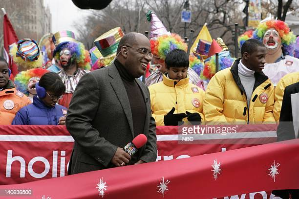 S 78TH THANKSGIVING DAY PARADE Aired Pictured NBC News' Al Roker at the commencement of the 2004 Macy's Thanksgiving Day Parade Photo by Virginia...