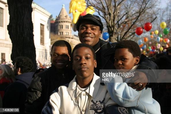 Actor Tracy Morgan with his sons Malcom Morgan, Tracy ...