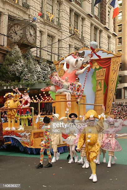 S 77TH THANKSGIVING DAY PARADE Aired Pictured Angelina Ballerina's Magic of Dance float at the 2003 Macy's Thanksgiving Day Parade Photo by NBCU...