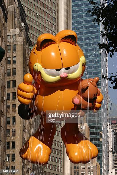 S 77TH THANKSGIVING DAY PARADE Aired Pictured Garfield at the 2003 Macy's Thanksgiving Day Parade Photo by NBCU Photo Bank