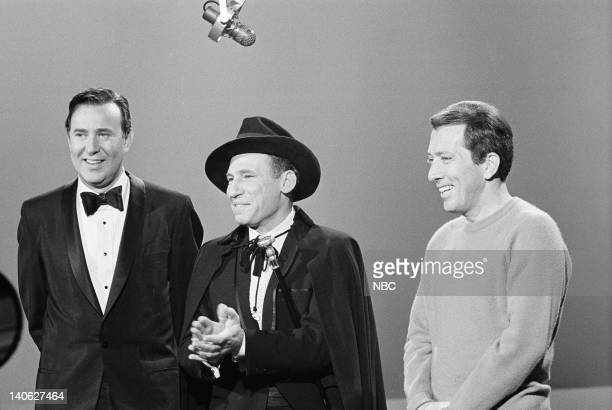 Aired 11/27/66 -- Pictured: Carl Reiner, Mel Brooks, Andy Williams -- Photo by: NBCU Photo Bank
