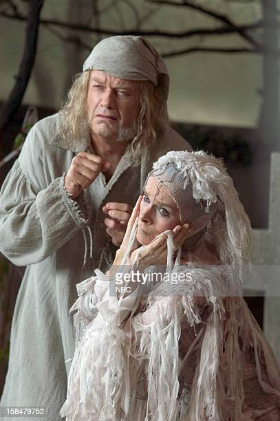Kelsey Grammer as Ebenezer Scrooge Geraldine Chaplin as Ghost of Christmas Future/blind beggarwoman