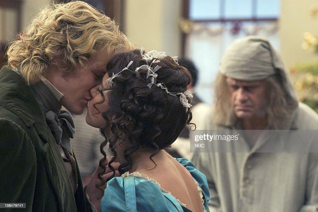 Steven Miller as Young Ebenezer Scrooge, Jennifer Love Hewitt as ...