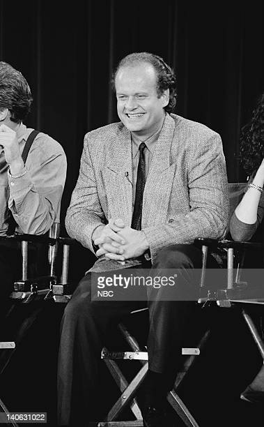 Kelsey Grammer answers questions during the 200th Episode Celebration Special Photo by Alice S Hall/NBCU Photo Bank