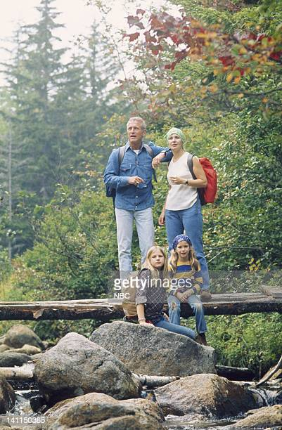 Paul Newman with wife Joanne Woodward children Melissa Lissy Newman Claire Clea Newman Photo by NBCU Photo Bank
