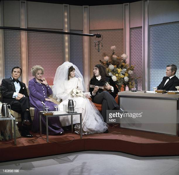Nick Lucas Phyllis Diller Victoria May Miss Vicki Budinger Tiny Tim host Johnny Carson Photo by NBCU Photo Bank