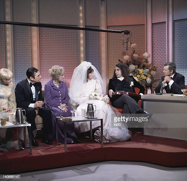 Florence Henderson Nick Lucas Phyllis Diller Victoria May Miss Vicki Budinger Tiny Tim host Johnny Carson Photo by NBCU Photo Bank