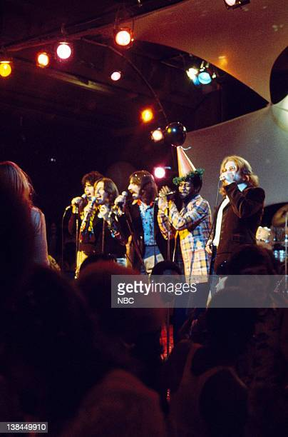 Aired -- Pictured: Three Dog Night, Al Green, Jerry Fisher of Blood Sweat & Tears
